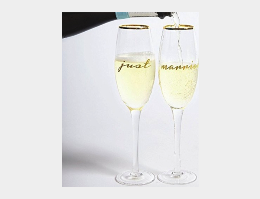 champagne glass clipart, Cartoons - Engagement Clipart Mimosa Glass - Champagne Stemware