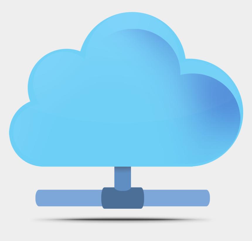 server clipart, Cartoons - Cloud Server Cliparts - Cloud Computing Png