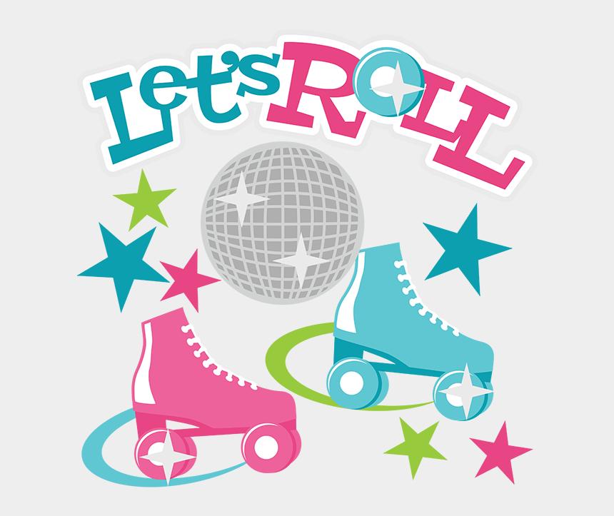 ice skating clipart, Cartoons - Roller Skating Clipart - Skate Party