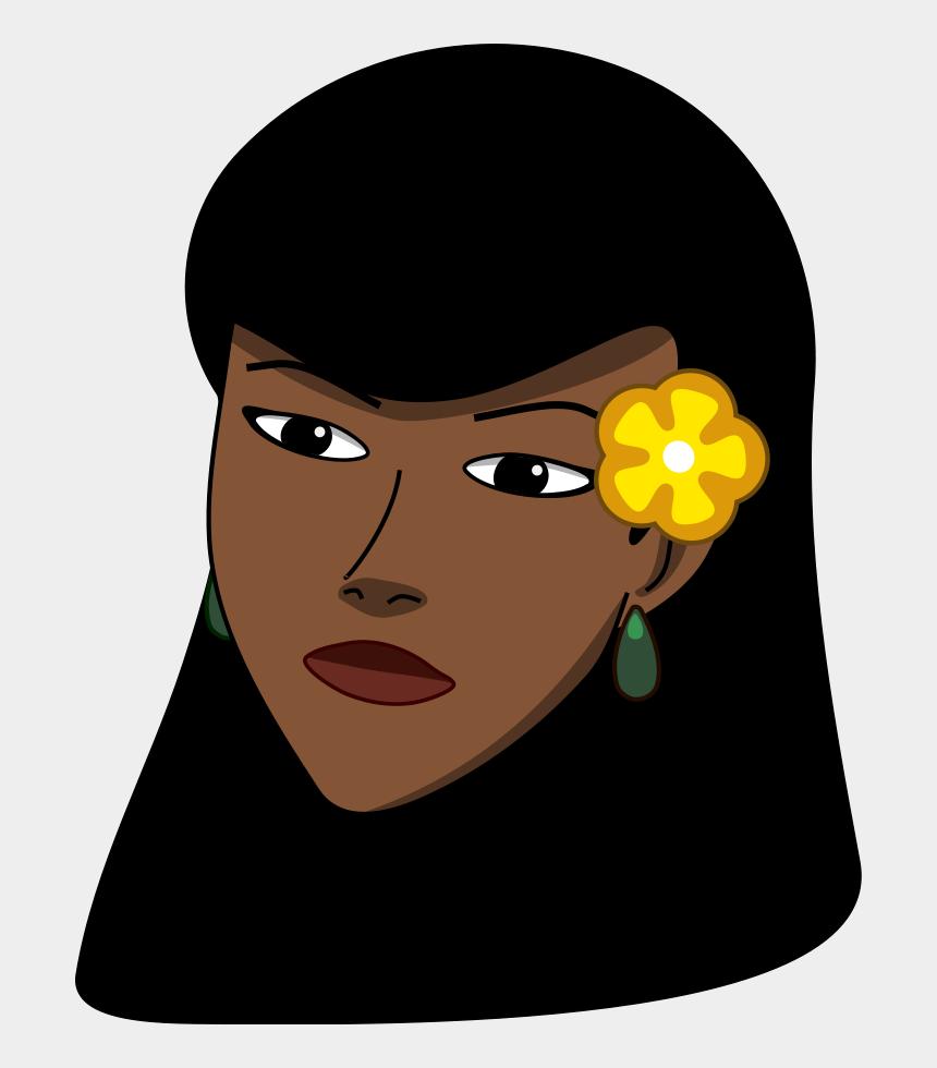 waterfall clipart, Cartoons - Black Woman Face Clipart
