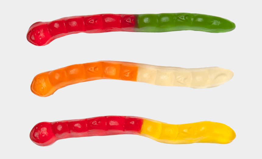 worm clipart, Cartoons - Worm Clipart Gummy Worm - Gummy Worms Transparent Background