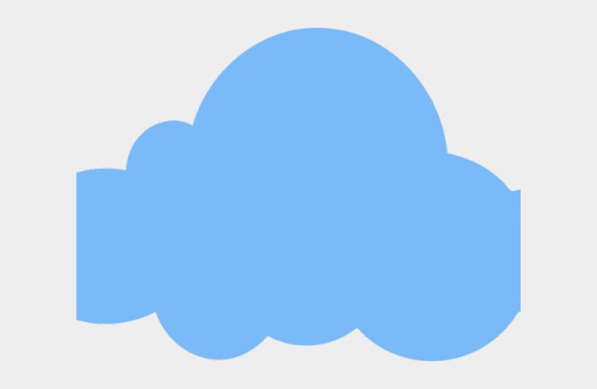 server clipart, Cartoons - Cloud Server Clipart Ulap - Blue Cloud Clipart Png