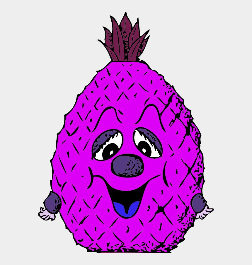 pineapple clipart, Cartoons - Vector Clip Art - Cartoon Pineapple