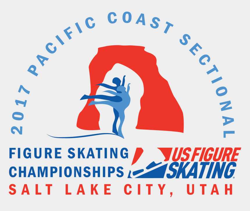 ice skating clipart, Cartoons - Pacific Coast Sectional Championships - Us Figure Skating
