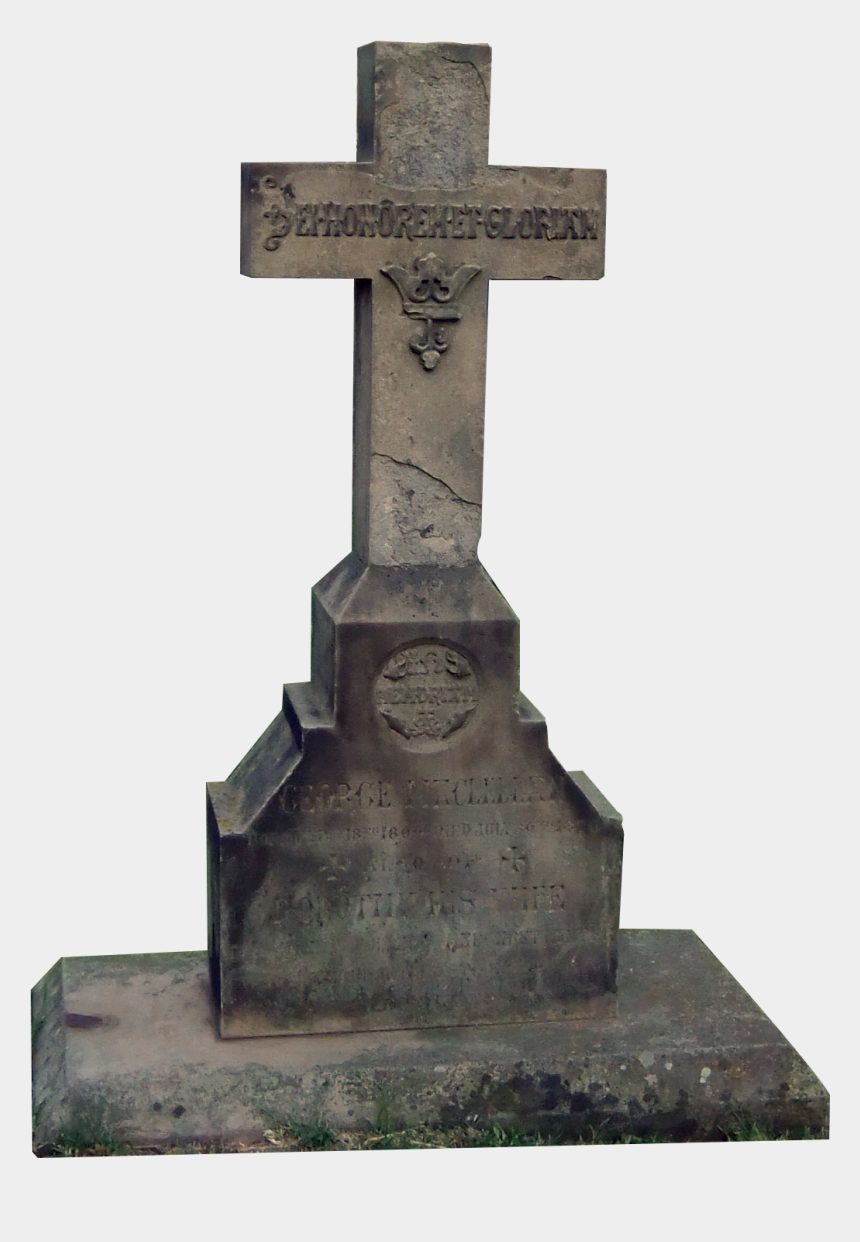 tombstone clipart, Cartoons - Tombstone Cross By Paulinemoss On Clipart Library - Headstone
