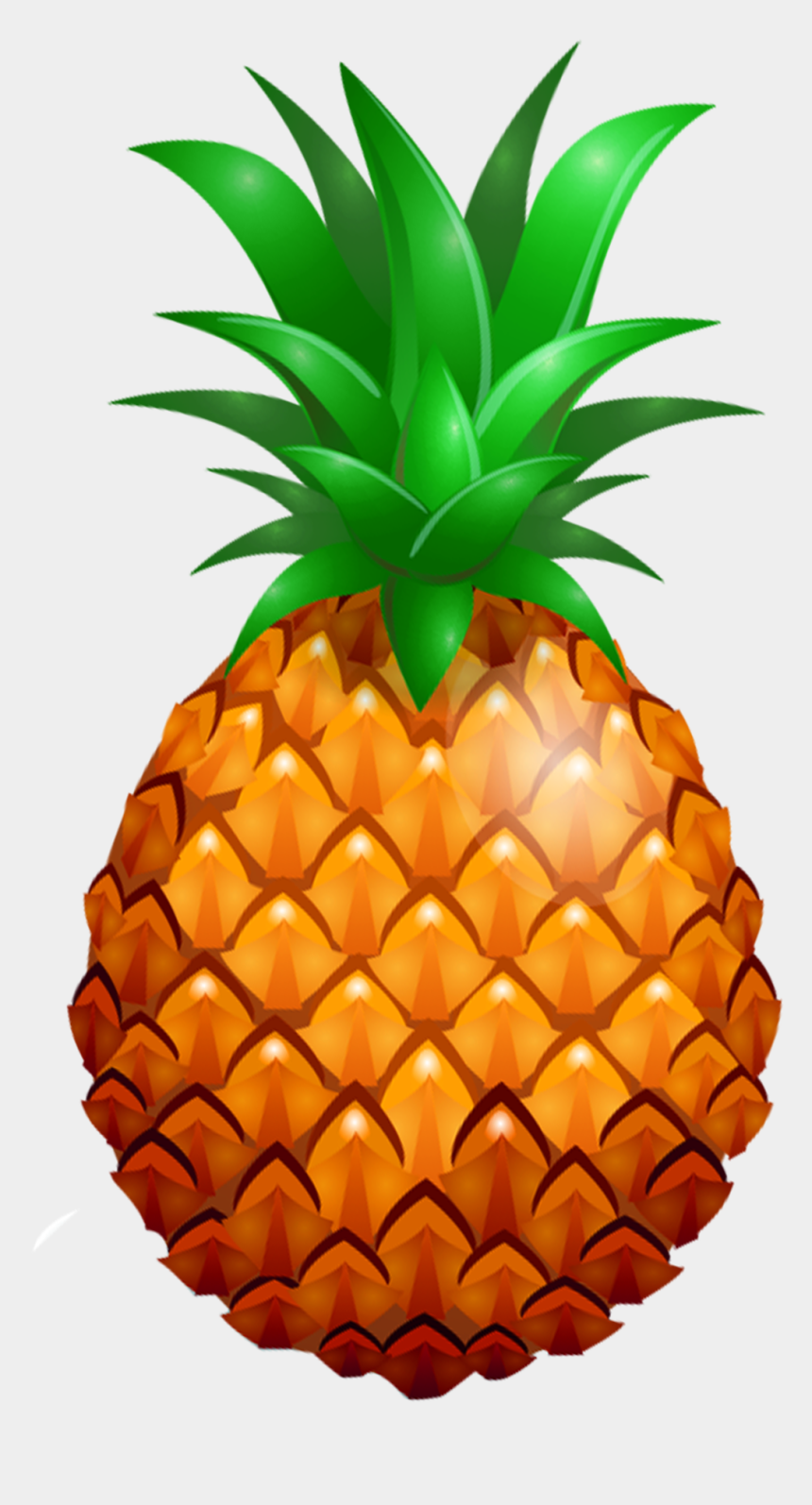 pineapple clipart, Cartoons - Pineapple Wearing Sunglasses Clipart