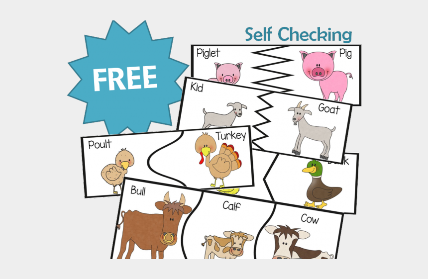 Free Vector | Cute farm animals family flat illustration set. cartoon  domestic goat, sheep, chicken, cow, pig, donkey isolated vector  illustration collection. educational activity for children and toddlers  concept