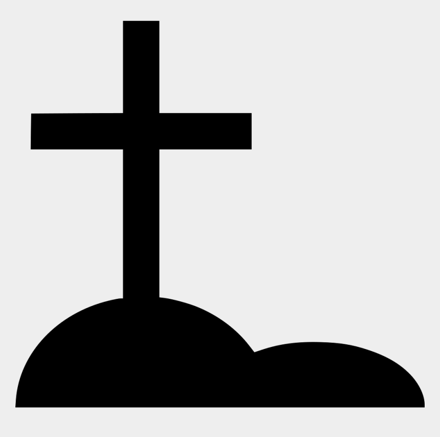 tombstone clipart, Cartoons - Crucifix Clipart Tombstone Cross - Died Cross Symbol Png
