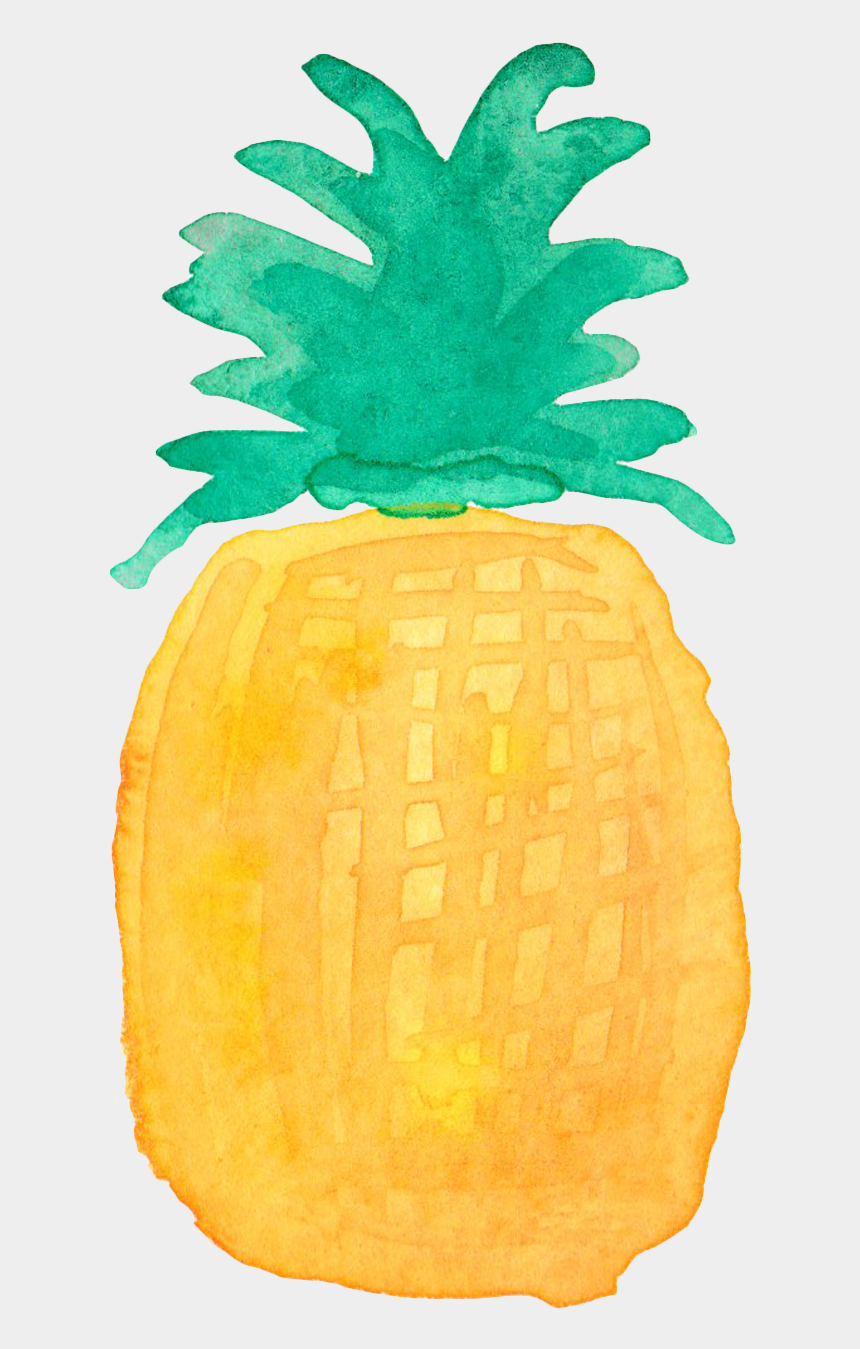 pineapple clipart, Cartoons - Pineapple Drawing Watercolor Painting - Baby Pineapple Vector Free