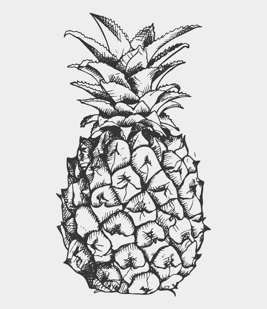 pineapple clipart, Cartoons - Pineapple Clipart Fancy - Pineapple Crown