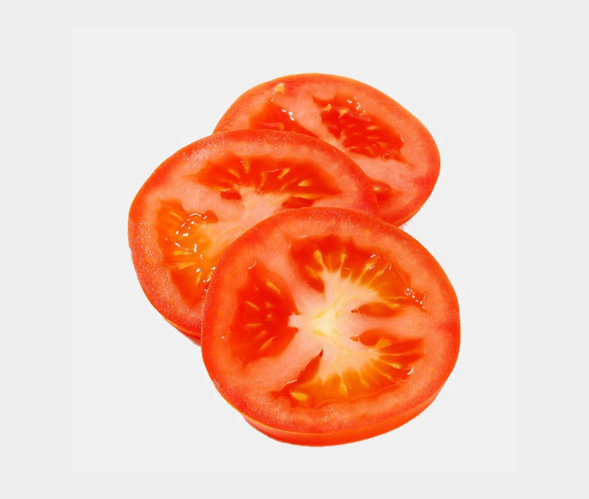 tomato clipart, Cartoons - Cherry Tomato Clipart Sliced Tomato - Transparent Background Tomato Slice