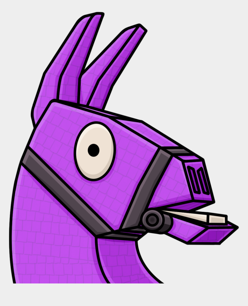 Llama Clipart Fortnite - Fortnite Llama Twitch Emote
