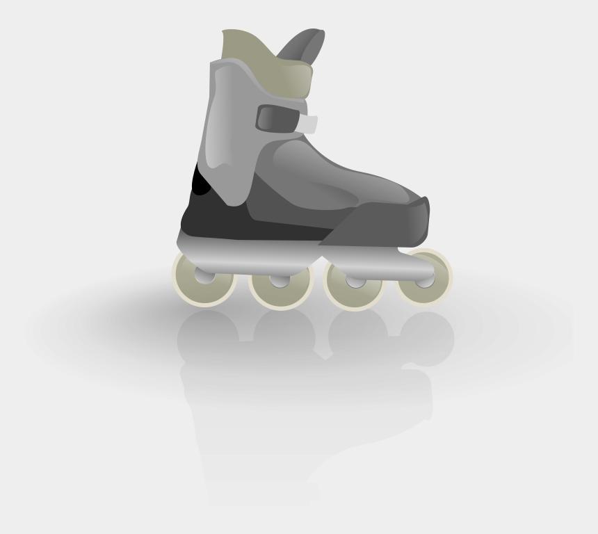 skating clipart, Cartoons - Rollerblades - Roller Skate Transparent Background Png