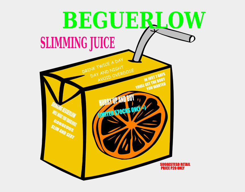 juice clipart, Cartoons - Slimming Juice Clip Art - Jugos En Caja Dibujos