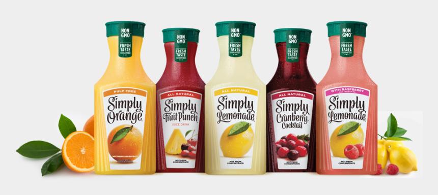 juice clipart, Cartoons - Orange Juice Clipart Canned - Simply Lemonade With Raspberry