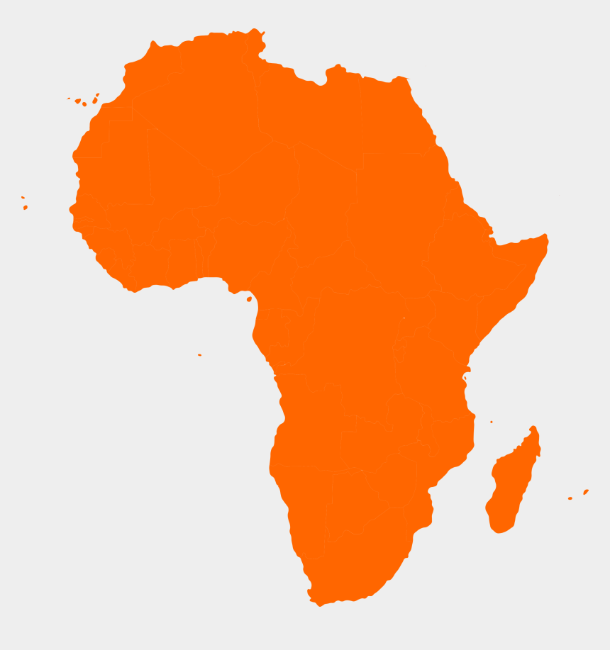 africa clipart, Cartoons - Africa Map Continent - African Union