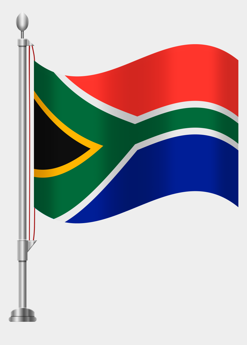 africa clipart, Cartoons - South Africa Flag Png Clip Art