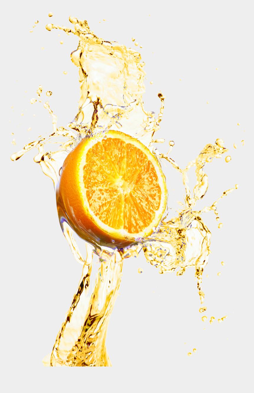 lemon clipart, Cartoons - Material Lemonade Decoration Juice Splash Design Orange - Splash Juice Orange Png