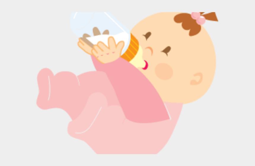 baby bottle clipart, Cartoons - Bottle Clipart Baby Girl - Baby Girl Icons