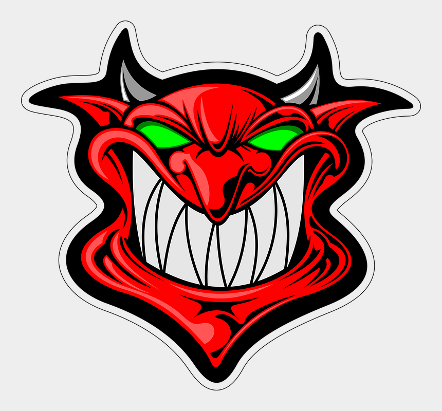 angry clipart, Cartoons - Devil Clipart Angry - Gambar Iblis Kartun