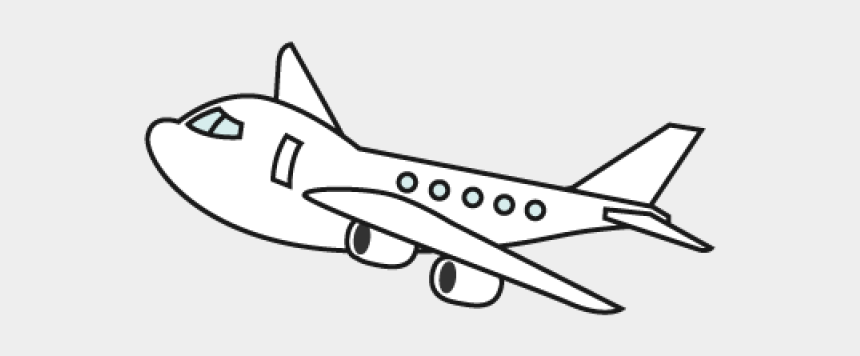 Airplane Clipart Black And White Png Cliparts Cartoons Jing Fm