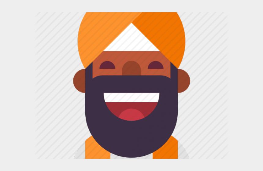 beard clipart, Cartoons - Beard Clipart Indian - Cartoon
