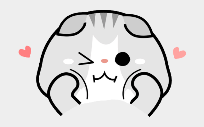 cute ferret clipart, Cartoons - Chibi Cat Cute Png
