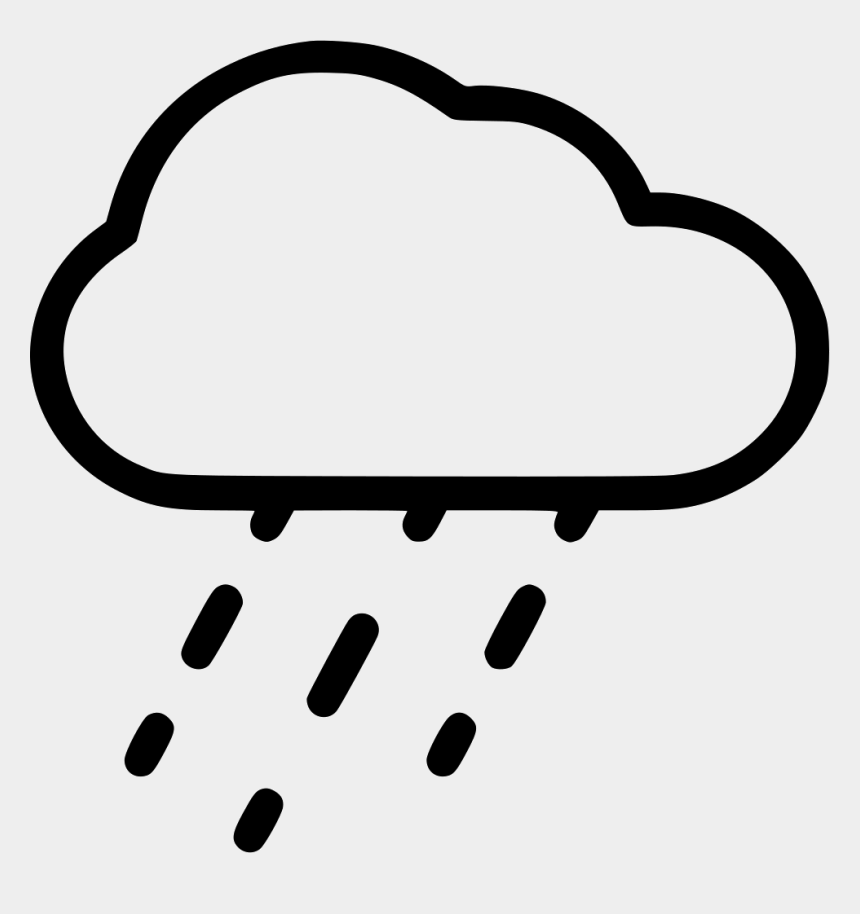 rain cloud clipart png, Cartoons - Weather Rain Clouds Transparent Background
