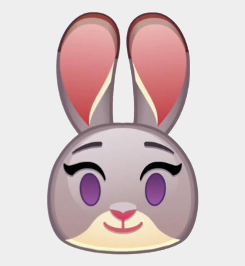 zootopia clipart png, Cartoons - Judy Hopps Emoji