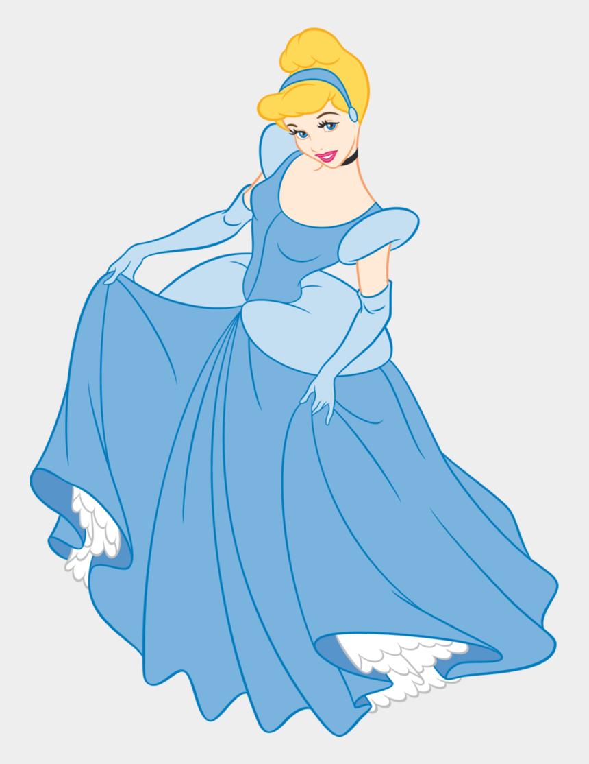 epcot globe clipart, Cartoons - Cinderella In Blue Dress