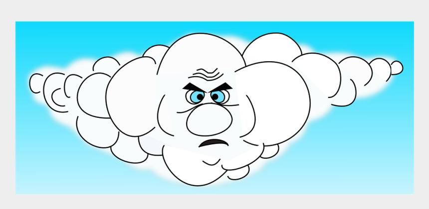 animated rain cloud clipart, Cartoons - Cartoon Clouds With Eyes