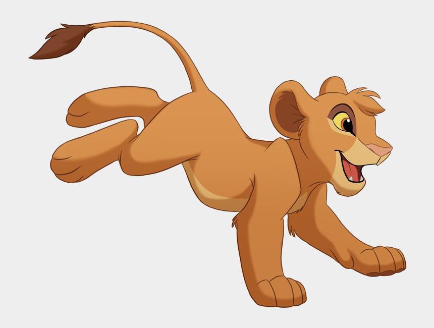 young simba clipart, Cartoons - Tama Lion King
