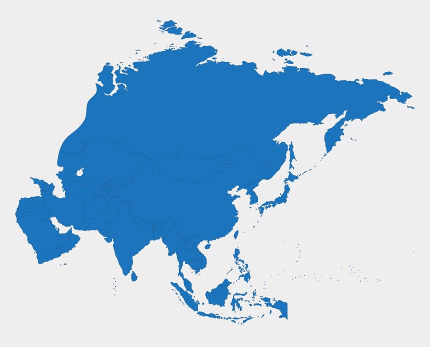 world maps clip art free, Cartoons - Grey Map Of Asia