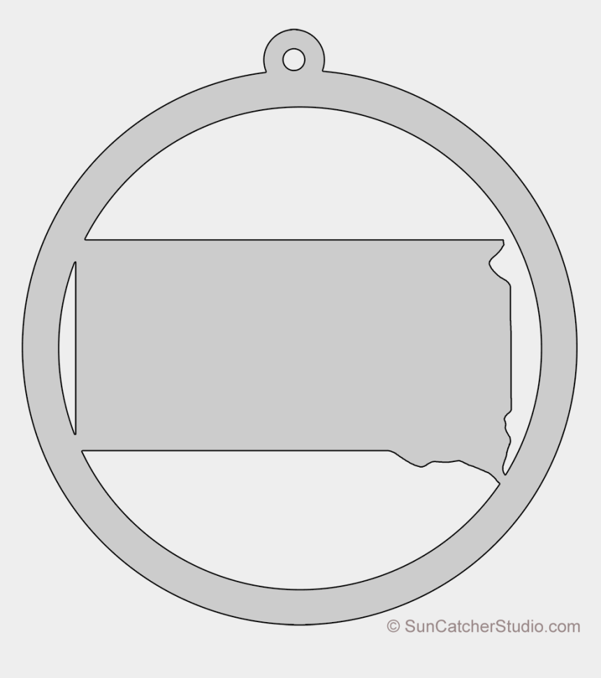 circles shape clip art, Cartoons - South Dakota Map Circle Free Scroll Saw Pattern Shape - Wifi 图标