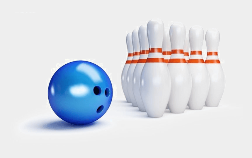 skittles game clipart, Cartoons - Bowling Poster High Resolution