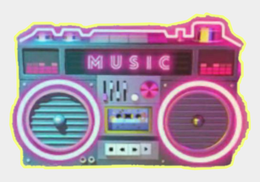old school boombox clipart, Cartoons - 90's Boombox Png