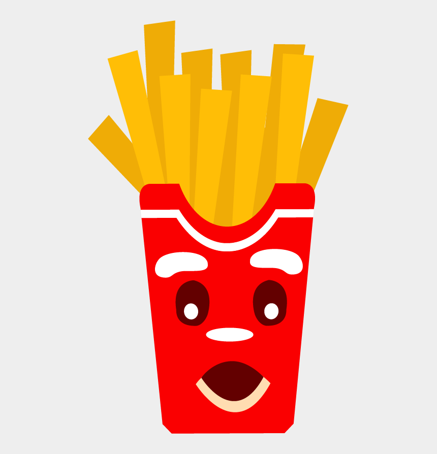 french fries clipart png, Cartoons - French Fries