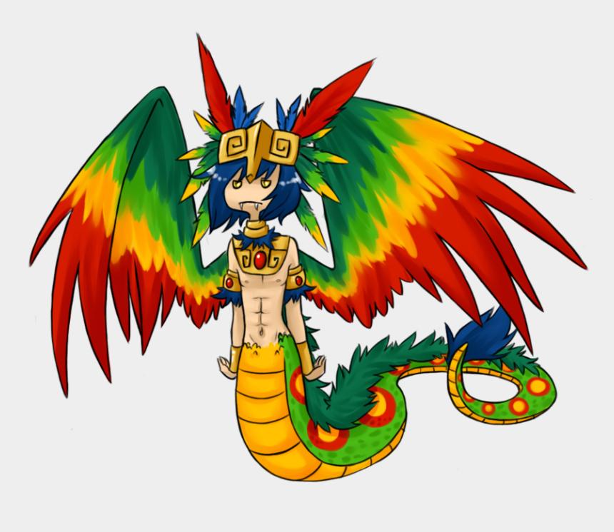 zeus greek god clipart, Cartoons - Quetzalcoatl Dragon