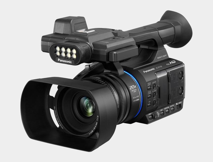 zoom lens clipart, Cartoons - Panasonic Ag Ac30 Price