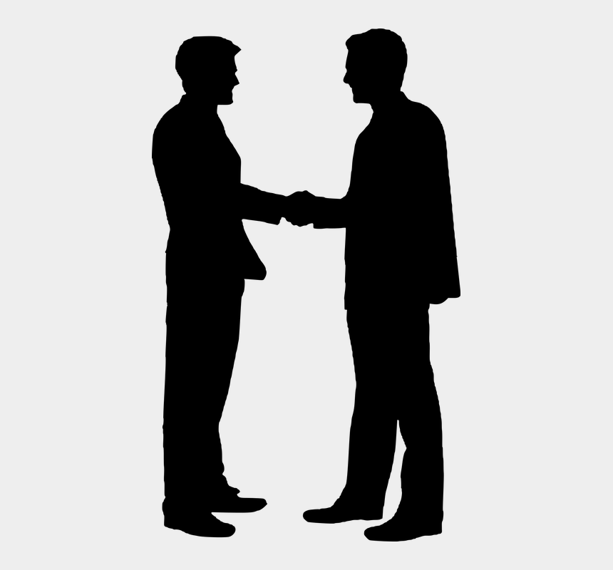 corporate clipart free, Cartoons - Contract Clipart Corporate Hand Shake - Silhouette Shaking Hands
