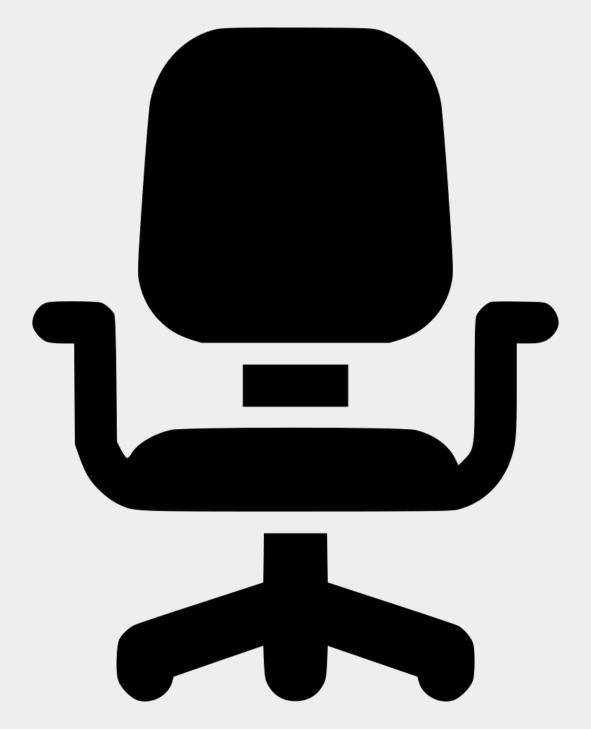 office desk and chair clipart, Cartoons - Office-chair - Office Chair Icon Png