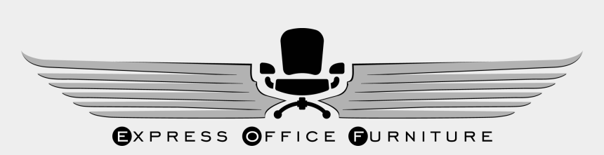 office desk and chair clipart, Cartoons - Office Furniture Logo