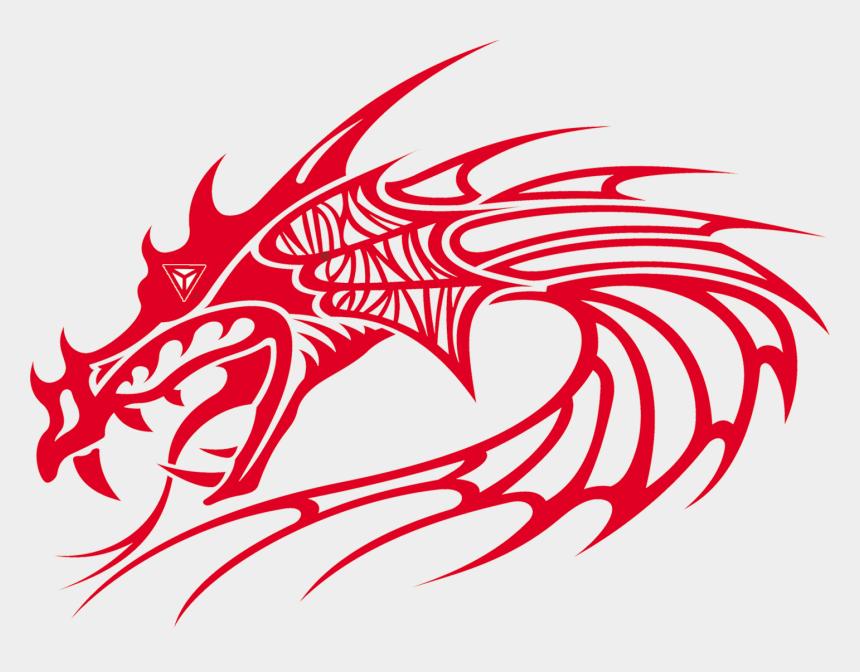 red dragon logo clipart, Cartoons - Dragon Head Vector Free