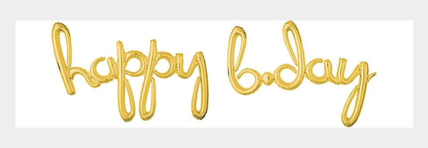 gold foil banner clipart, Cartoons - Balloon