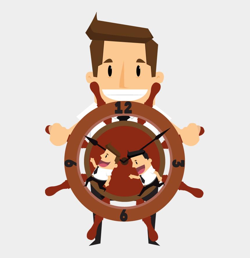 clipart of successful businessman, Cartoons - Control En El Trabajo