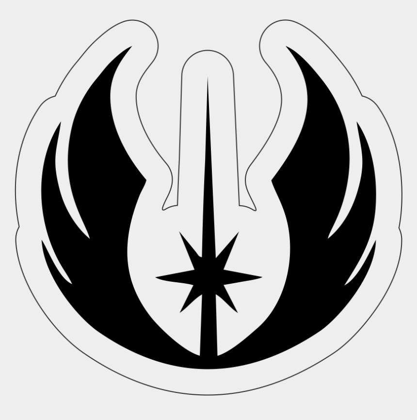 star wars jedi clipart, Cartoons - Star Wars Jedi Academy Symbol