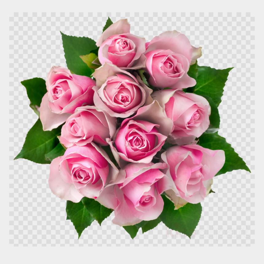 clipart bouquet of flowers outline, Cartoons - Rose Bouquet Transparent Background