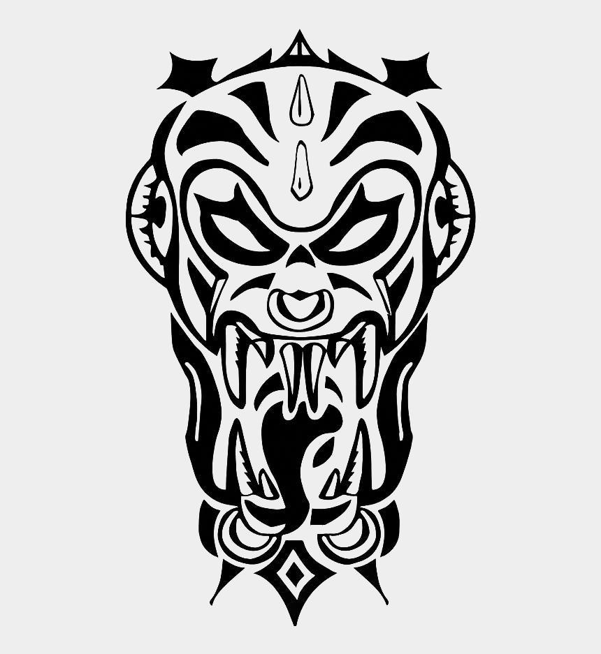 henna tattoo clipart, Cartoons - Monkey King Hand Tattoo