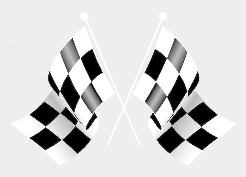 racing stripe clipart, Cartoons - Checkered Flag Happy Birthday