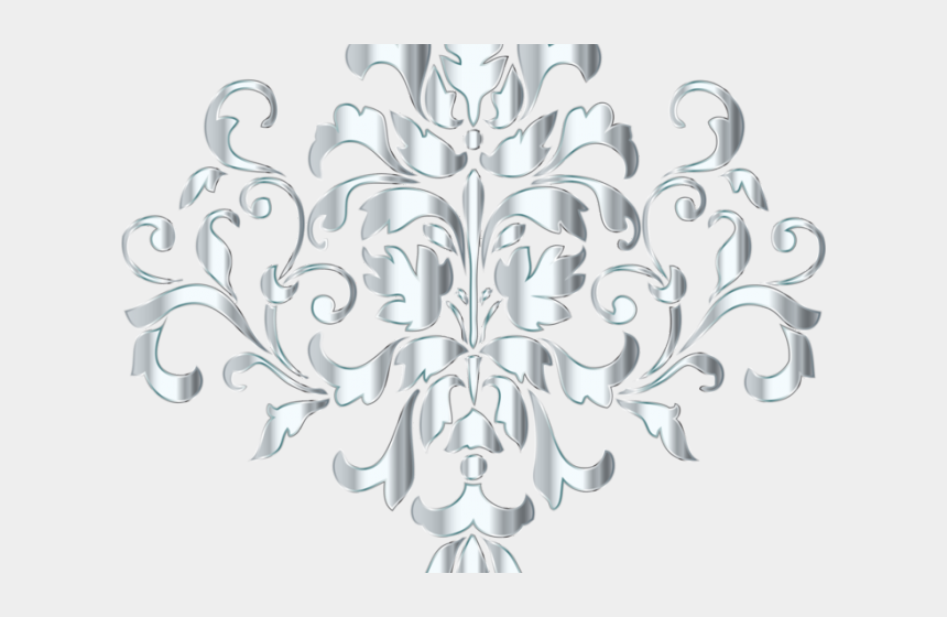 interior design images clipart, Cartoons - All Silver Flower Png